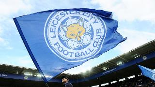 Flag waving at King Power Stadium