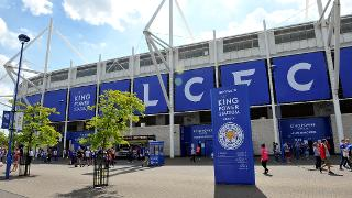 The view from outside King Power Stadium