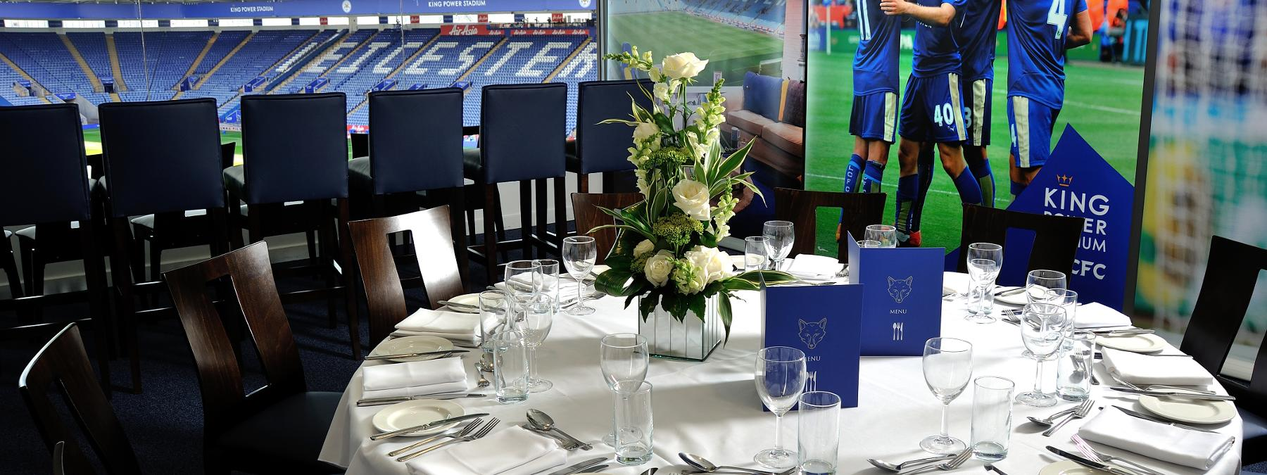 TV Studio | Hospitality I Leicester City