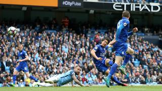 Manchester City 2 Leicester City 1