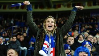 Supporter at King Power Stadium