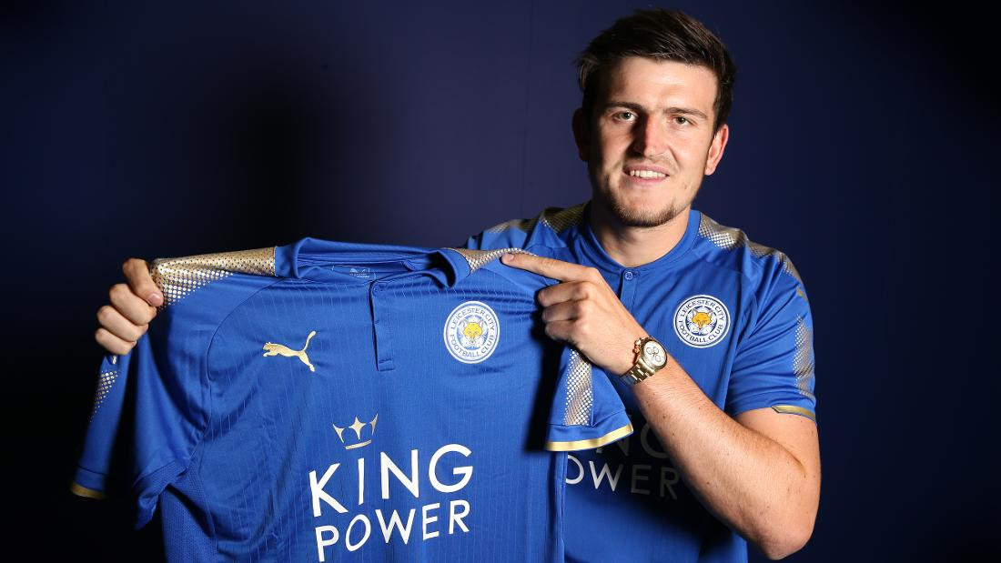 Leicester City Sign Harry Maguire