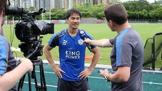 Shinji Okazaki speaks to LCFC TV