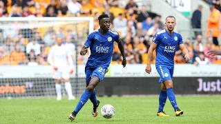 Wilfred Ndidi looks for options