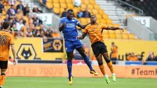 Wes Morgan gets up well