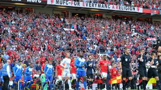 Teams out at Old Trafford