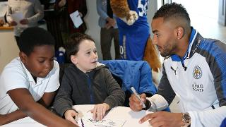 Danny Simpson at PL Writing Stars
