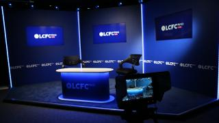 LCFC TV studio