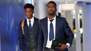 Demarai Gray and Kelechi Iheanacho
