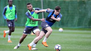 Ben Chilwell and Danny Simpson