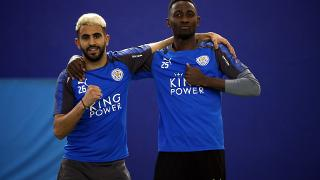 Riyad Mahrez and Wilfred Ndidi