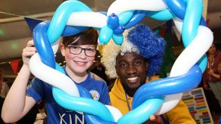 NDidi With Young Fan
