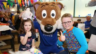 Young Fans With Filbert