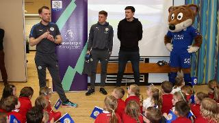 Harvey Barnes and Harry Maguire