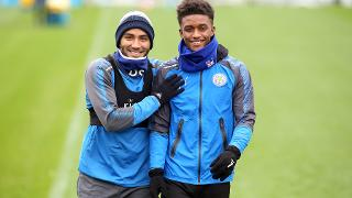 Danny Simpson and Demarai Gray