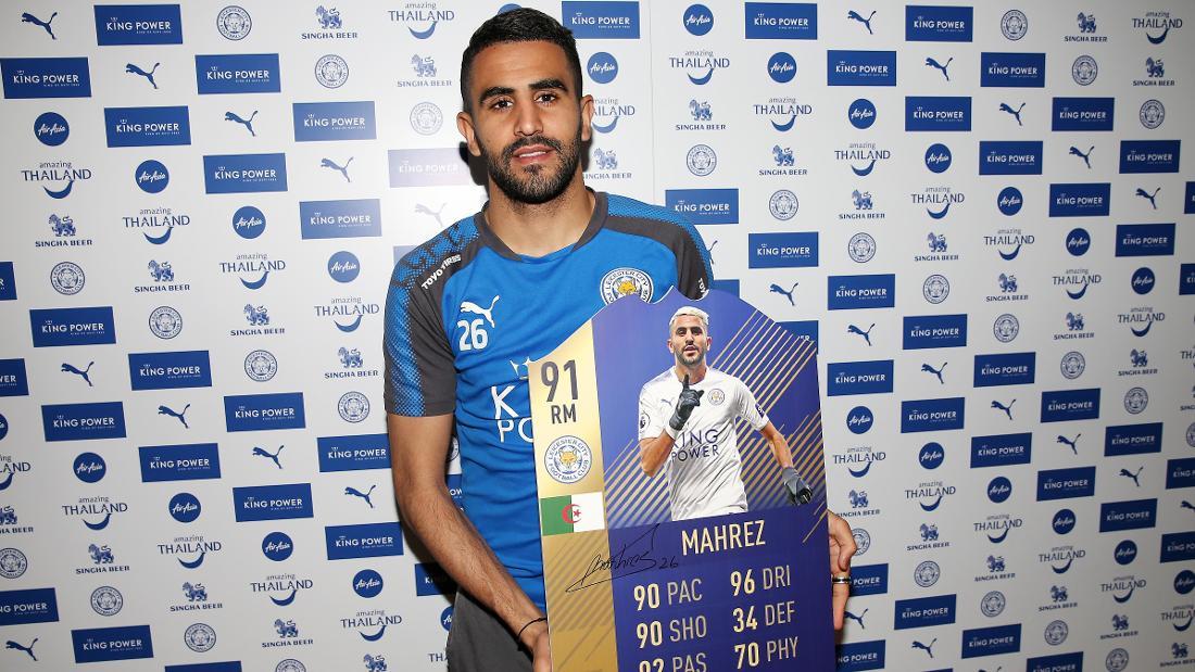 d220d6963d6 Mahrez Named In FIFA 18 Premier League Team of the Season