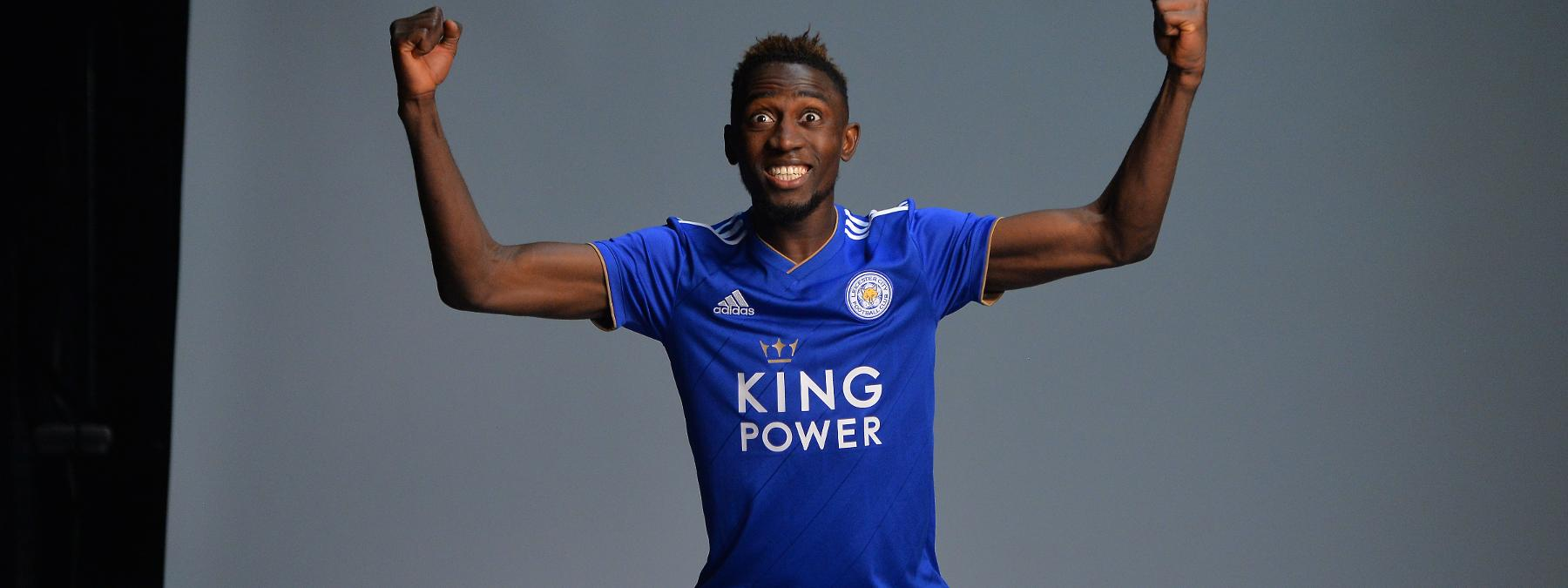 Leicester City's adidas 2018/19 Home Kit Photoshoot