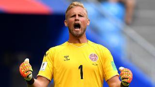 Kasper Schmeichel - Denmark 1 Australia 1