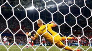 Kasper Schmeichel - Croatia 1-1 Denmark (3-2 on pens)
