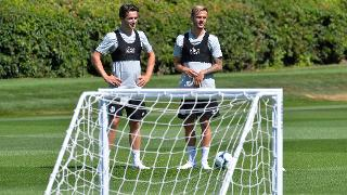 Ben Chilwell and James Maddison