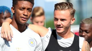Demarai Gray and James Maddison