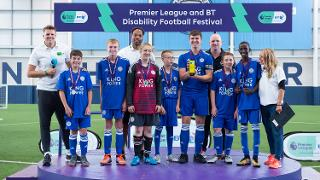 PL and BT Disability Football Festival