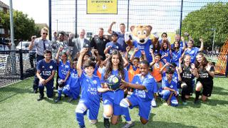 Cruyff Court Opens In St Matthew's