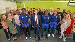 Leicester City at DMU