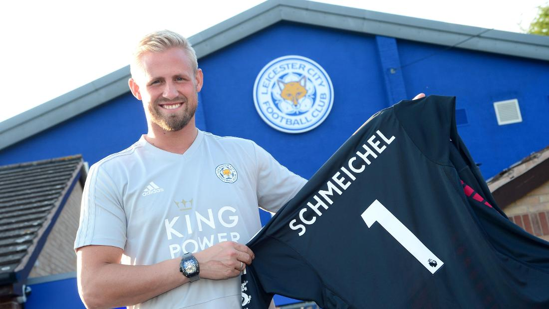 Kasper Schmeichel Signs New Leicester City Contract 7fc53ecbd