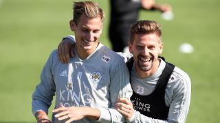 Marc Albrighton and Adrien Silva