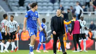 Harry Maguire and Claude Puel