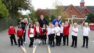 Marc Albrighton at Redlands Community Primary School