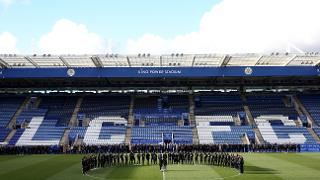 Minute's Silence At King Power Stadium