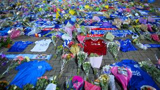 Tributes At King Power Stadium
