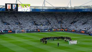 Two-minute's silence at King Power Stadium