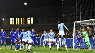 A chance for City's Under-23s