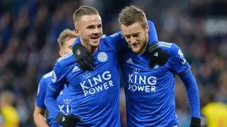 James Maddison and Jamie Vardy