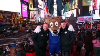 Matt Elliott, Steve Walsh & Filbert Fox in Times Square
