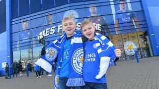 Young Foxes supporters