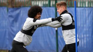 Hamza Choudhury and Harvey Barnes
