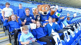 Marc Albrighton, Rachel Riley and Filbert Fox