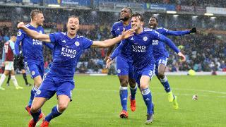 Jonny Evans, Wes Morgan and Ben Chilwell