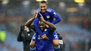 Wes Morgan and Youri Tielemans