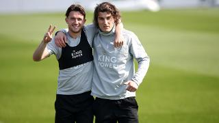 Ben Chilwell and Caglar Soyuncu