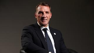 Brendan Rodgers in LCFCQ