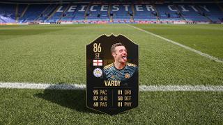 Jamie Vardy FIFA card