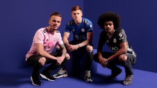 Leicester City's 2019/20 kits