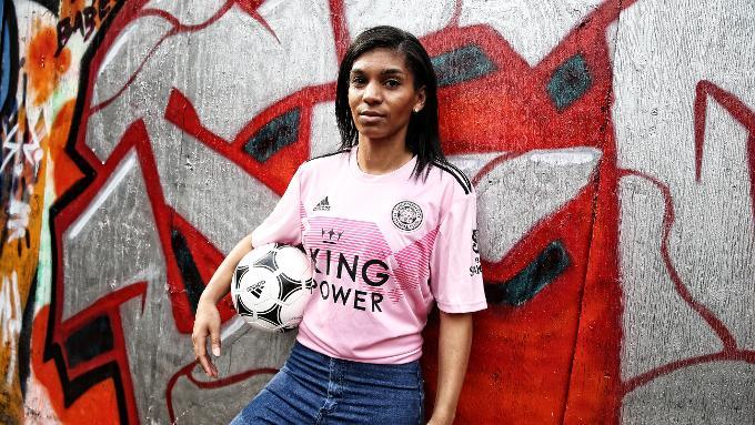 Leicester City's 2019/20 true pink away shirt