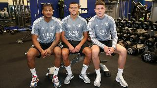 Vontae Daley-Campbell, Ali Reghba and George Hirst