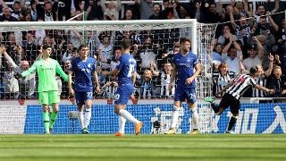 A brace versus Chelsea